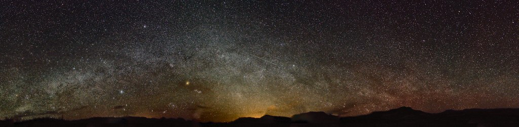 Milky Way Pano1 from BIg Bend
