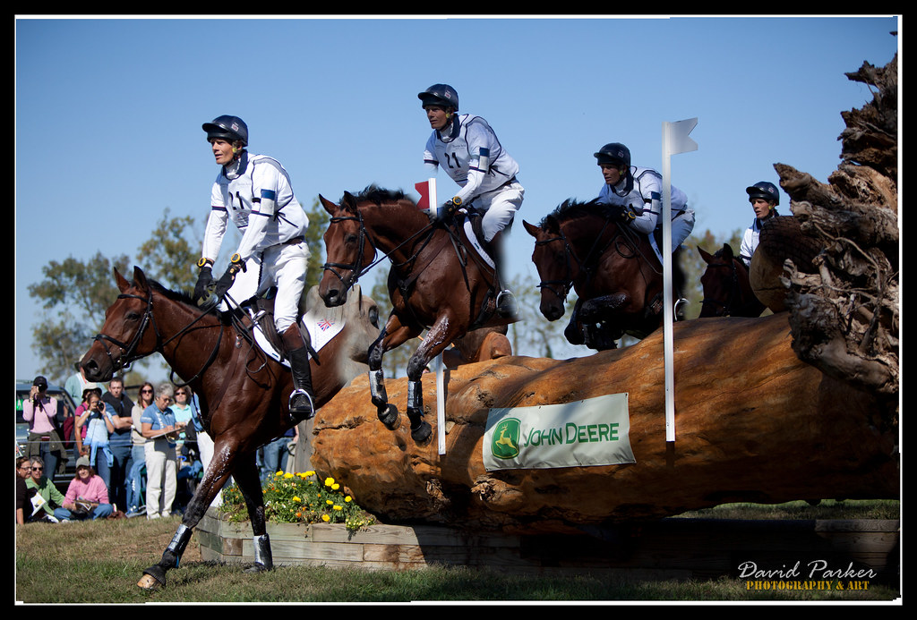 Merged Action Shot - Horse & Rider