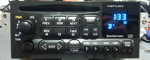 z28 s10 camaro gmc chevy mp3 aux ipod delco radio cd