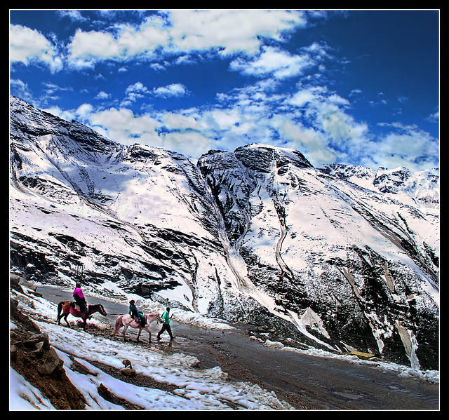 a ride among the mighty himalayas: $10, the pure joy you experience from it: priceless
