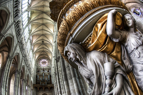Amiens Cathedral (HDR, Fisheye)