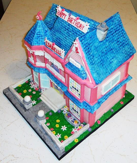 Barbie Dream House Birthday Cake Flickr - Photo Sharing!