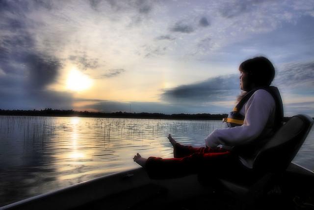 Prairie Lake, Loons, Fish, Hannah 080a