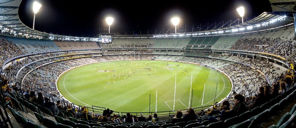The MCG at Night