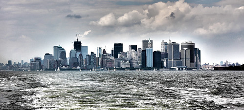 NYC from Staten Island Ferry 2011