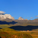 The sacred Mountain Zhara Lhatse 5820m and the Jinlong Gonpa, Tibet