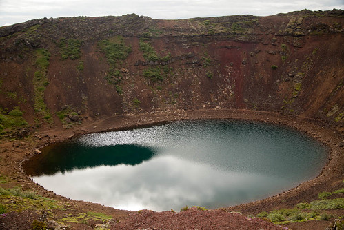 Volcanic Crater At Kerið