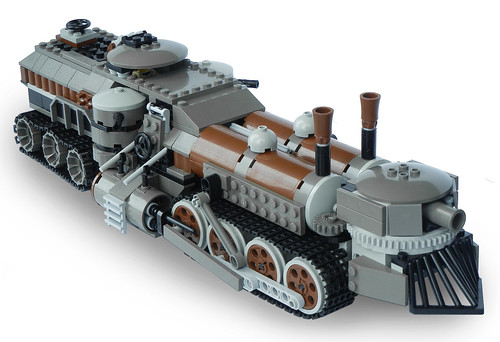 Light Steam Landship Mk. LXIII (side)