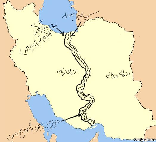 Unity Line Art Map : Iran a house divided big think