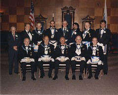 Fidelity Lodge as Officer