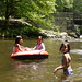 Tubing in the Deep Creek in NC with friends