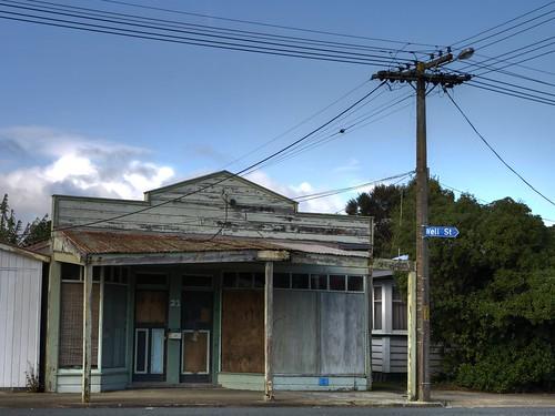 Old shop, Ruawai, Northland, New Zealand