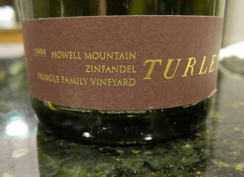 wine, Turley, 1999, red, zinfandel, Howell … IMG_7369