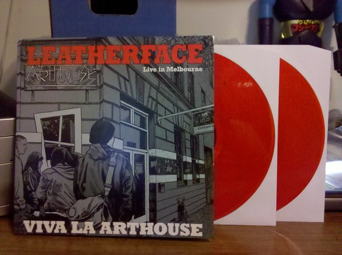 Leatherface - Viva La Arthouse: Live In Melbourne 2xLP - UK Version, Red Vinyl