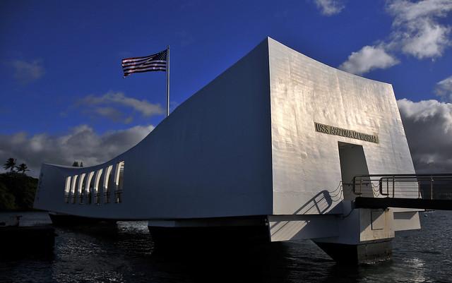 USS Arizona Memorial by CC user usnavy on Flickr