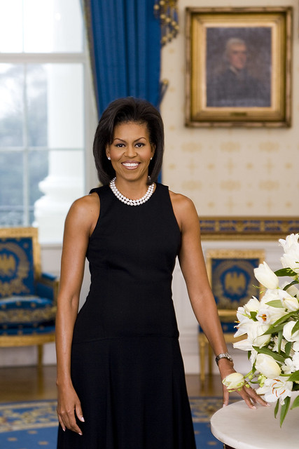 First Lady Michelle Obama official photographic portrait