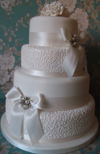 Not Fussy Wedding Cake
