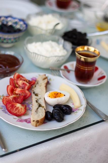 Black Sea Inspired Breakfast by Olga Irez of Delicious Istanbul