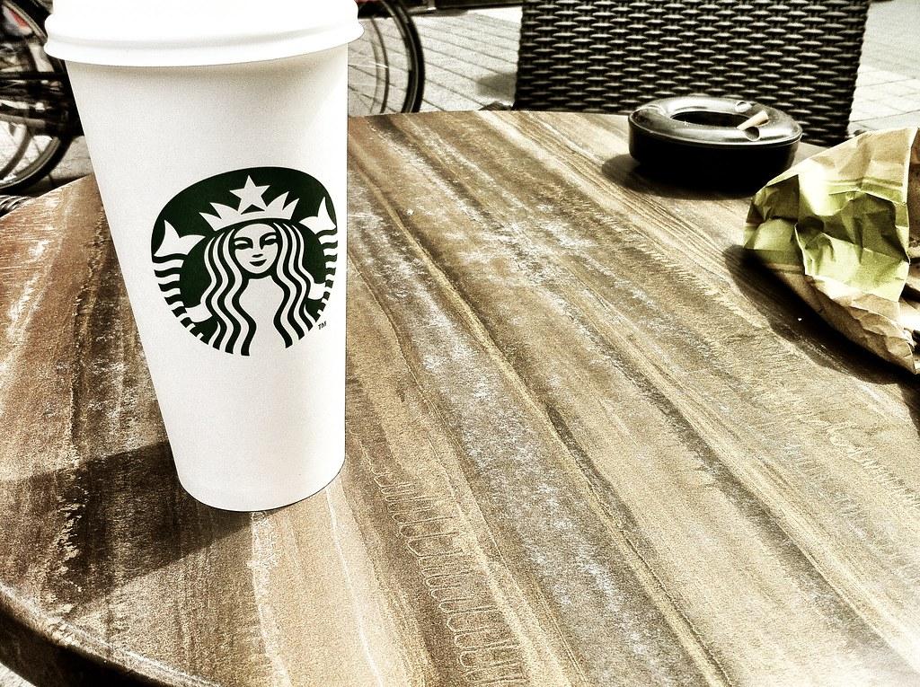 Coffee, sun, shiny happy people! Chillin' at Frankfurt, my love!