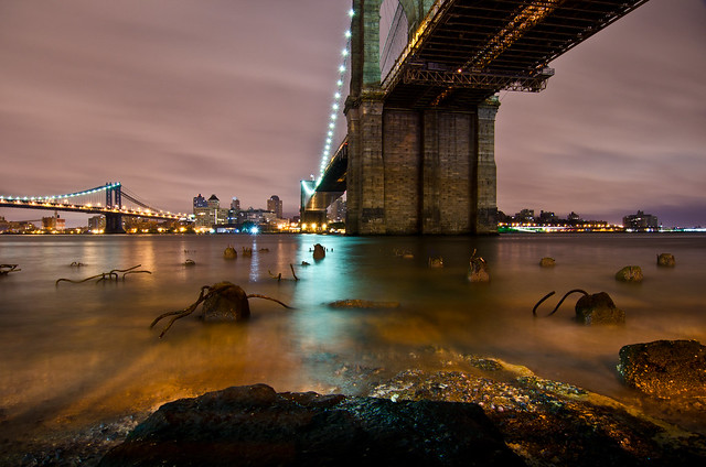 Underneath The Brooklyn Bridge