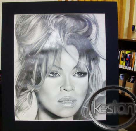 Beyonce Drawing on Keston Mckinnon Art Artist Beyonce Drawing Mathew Knowles  1    Flickr