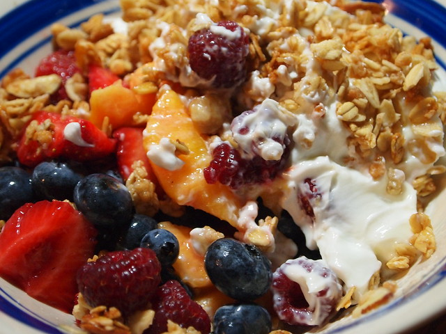 Fruit, Yogurt and Granola | Flickr - Photo Sharing!