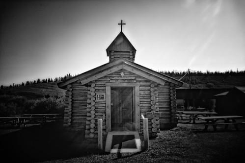 St. Hubert the Hunter Church in Bondurant Wyoming