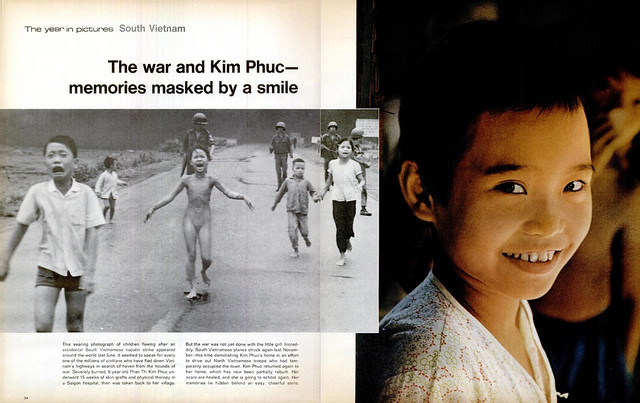 LIFE Magazine Dec 29, 1972 - The war and Kim Phuc--memories masked by a smile