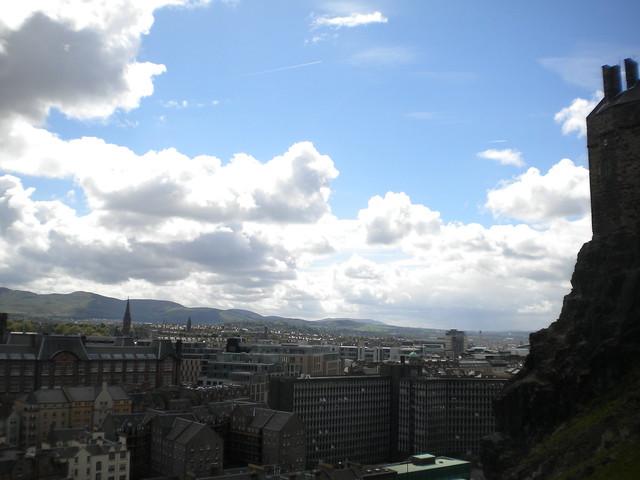 Edimburgo visto desde su castillo