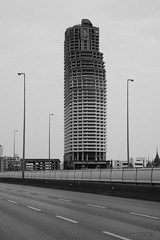 Bangkok : Abandoned skyscraper