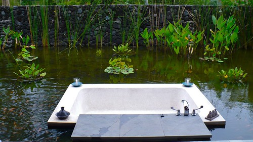 Alila outdoor bathtub