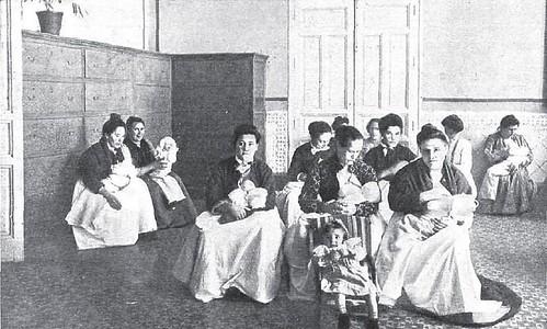 1905. Amas de cria de la Inclusa