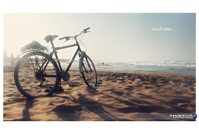 ...beach time...