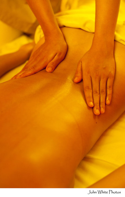 naked massage london