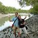 Dan and Audrey in Mangrove Forest - Sundarbans, Bangladesh