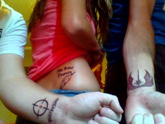 Our new tattoos