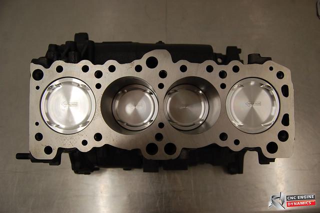 complete 4g63 fully built race motor  turbo  fuel setup
