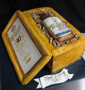 Sculpted Liquor Bottle Case Cake Birthday Jpg 283x300 Cakes