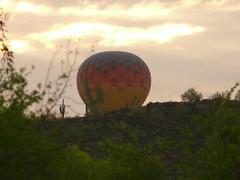 Stetson Hills Hot Air Balloon