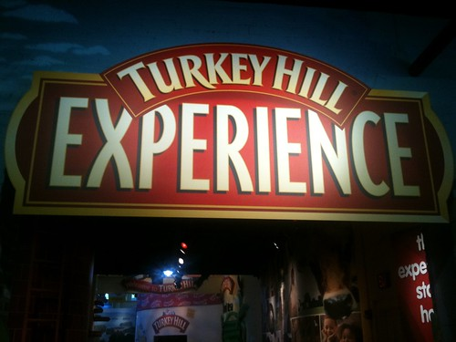 Turkey Hill Experience Sign Over Exhibit Entrance