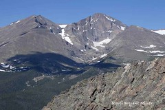 Longs and Meeker, the two highest peaks of Rocky Mountain National Park