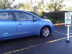 automobile, automotive exterior, vehicle, nissan leaf, electric car, compact car, bumper, land vehicle, electric vehicle, hatchback,