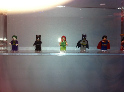 LEGO DC Minifigs at SDCC 2011, courtesy of meat1980