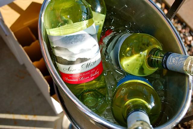 よく冷えたワイン