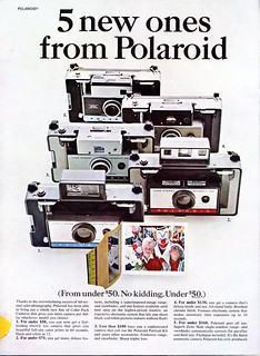5 new ones from Polaroid - 1967