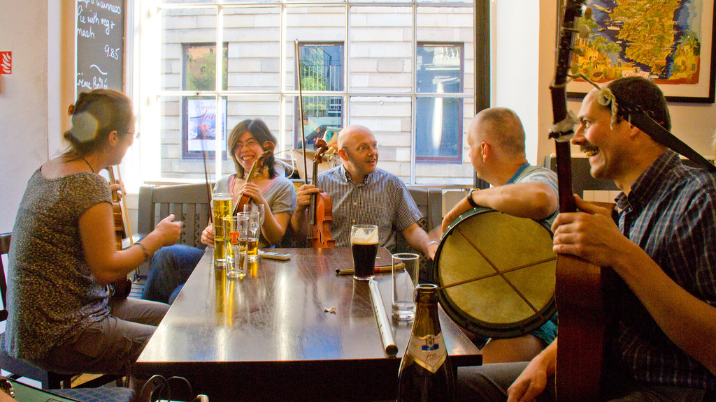 Live Folk Sessions at Babbity Bowster