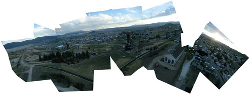 panorama of the mountain con mine