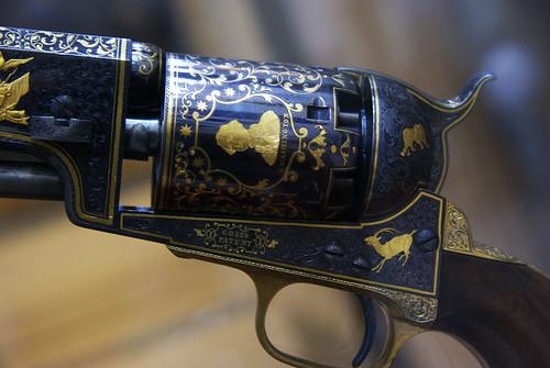 Detail-Colt Revolver-1853-Metropolitan Museum, NYC