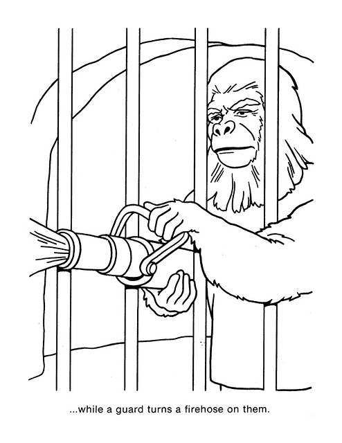 Planet of the Apes Coloring Book 0200046