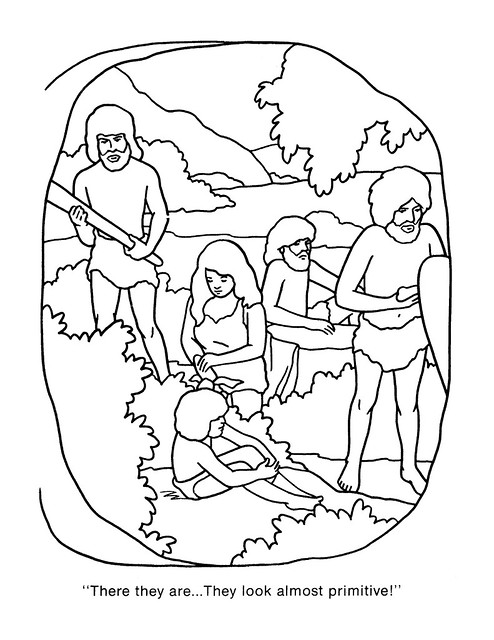 Planet of the Apes Coloring Book 0200021